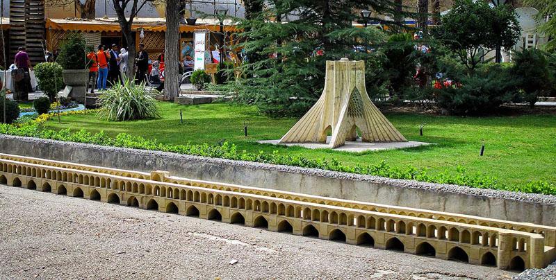 کافه باغ موزه هنر ایرانی
