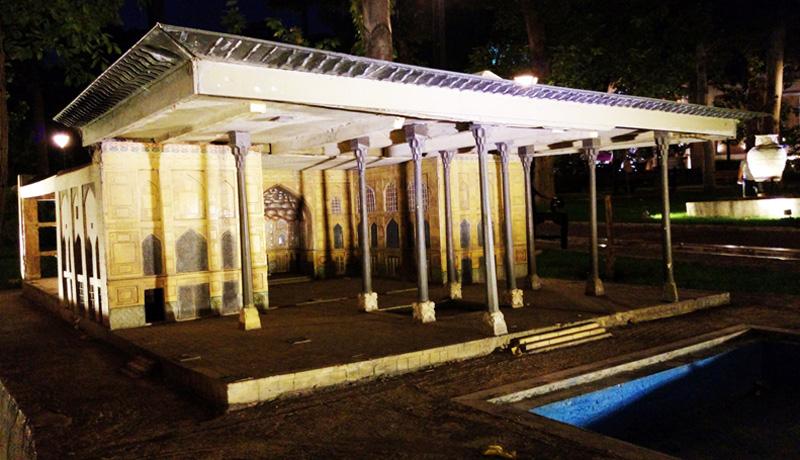 باغ موزه هنر ایرانی در تهران,ساعات بازدید از باغ موزه هنر ایرانی,عکس های باغ موزه هنر ایرانی