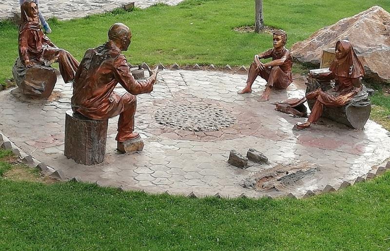 جاذبه های گردشگری یزد,عکس از پارک کوهستان یزد,عکس پارک کوهستان یزد