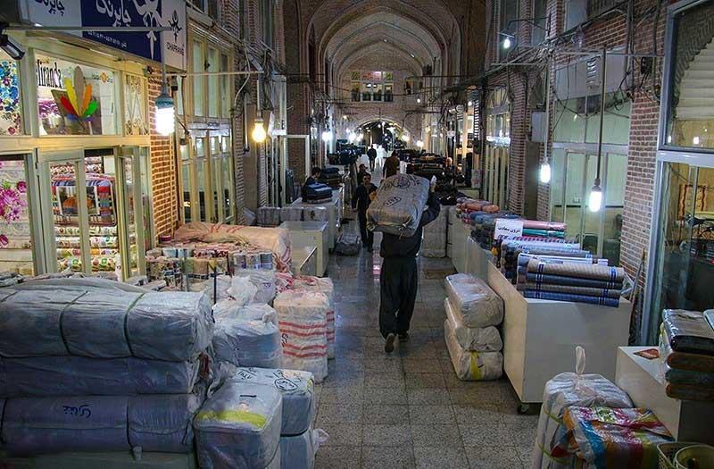راسته پارچه فروشان تهران,سرای امیر کبیر,سرای امیرکبیر در بازار تهران