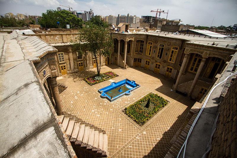 خانه داروغه در مشهد,خانه ی داروغه,عکس های خانه داروغه مشهد