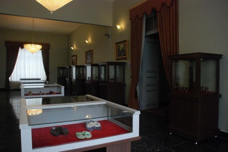 کاخ موزه در گرگان,کاخ موزه شهر گرگان,موزه شهر در گرگان