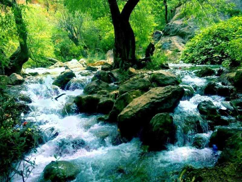 آبشار مارگون,آبشار مارگون در استان فارس,آبشار مارگون شیراز