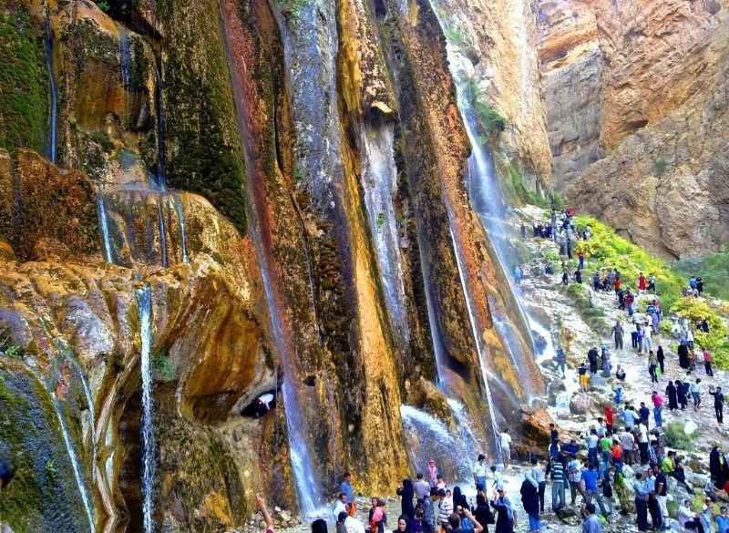 آبشار مارگون فارس,ابشار مارگون,ابشار مارگون شیراز
