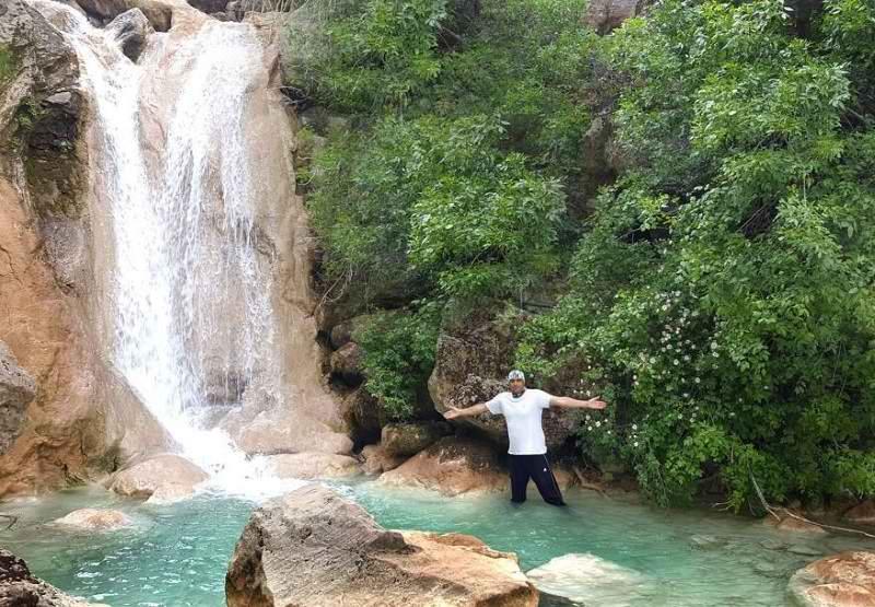 آبشار نای انگیز,آبشار نای انگیز خرم آباد,آبشار نای انگیز در استان لرستان