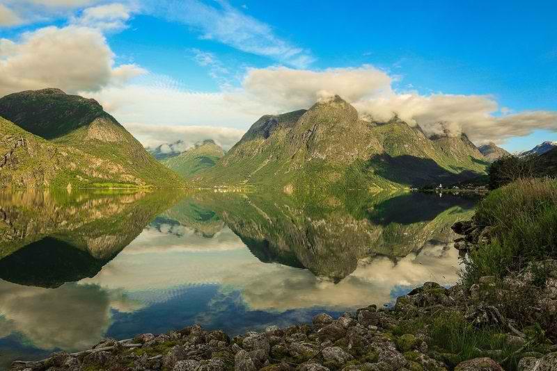 زیباترین کشورهای اروپایی,کشور نروژ