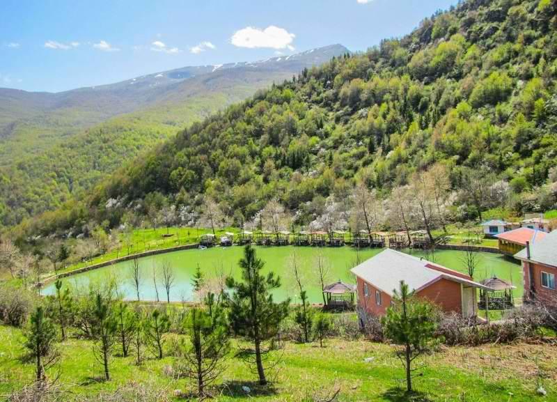 جاذبه های گردشگری مازندران,دریاچه قو,دریاچه قو جواهرده رامسر