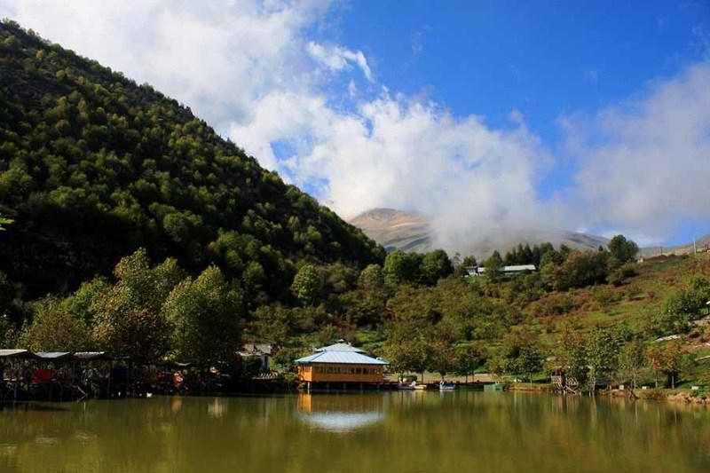دریاچه قو جواهرده مازندران,دریاچه قو در استان مازندران,دریاچه قو در جواهرده رامسر