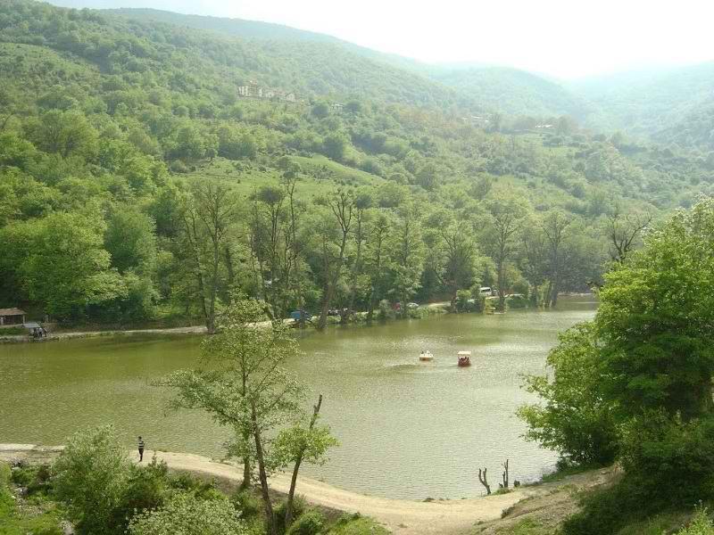 دریاچه شورمست در زمستان,دریاچه شورمست سوادکوه,دریاچه شورمست فیروزکوه