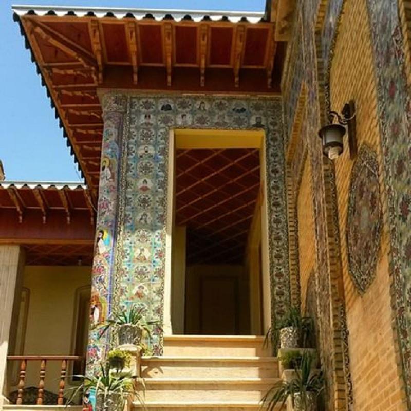 خانه ضیائیان,خانه ضیائیان در شیراز,عکس های خانه ضیائیان شیراز