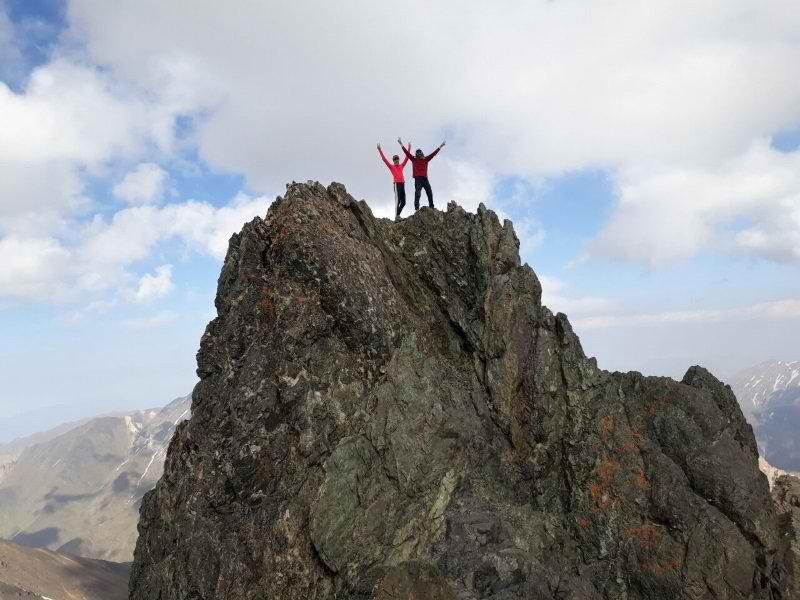آب و هوای علم کوه,اب و هوای علم کوه,ارتفاع علم کوه