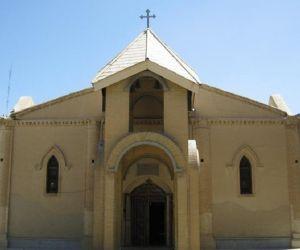 پلان کلیسای مسروب مقدس اراک,جاذبه های گردشگری اراک,کلیسا های اراک