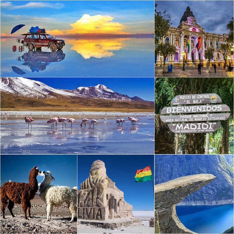 جاذبه های بولیوی,جاذبه های گردشگری,جاذبه های گردشگری بولیوی