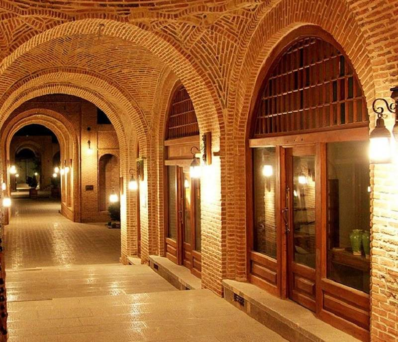 کاروانسرای تاریخی سعدالسلطنه قزوین,کاروانسرای سعدالسلطنه,کاروانسرای سعدالسلطنه در قزوین