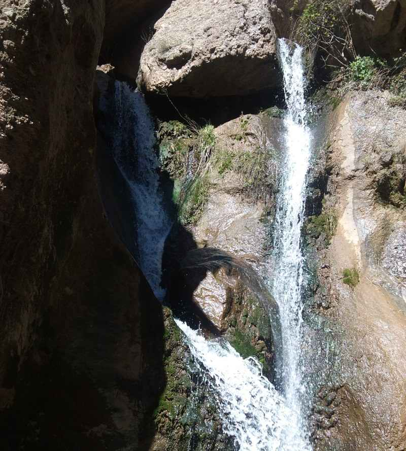 آبشار دره گرم,آبشار دره گرم خرم آباد,آبشار دره گرم در استان لرستان