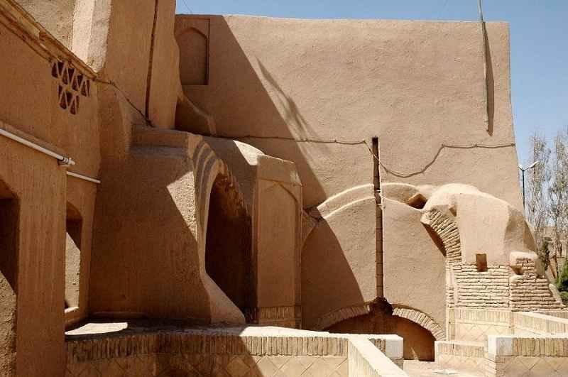 پلان بقعه دوازده امام یزد,جاذبه تاریخی یزد,جاذبه گردشگري يزد