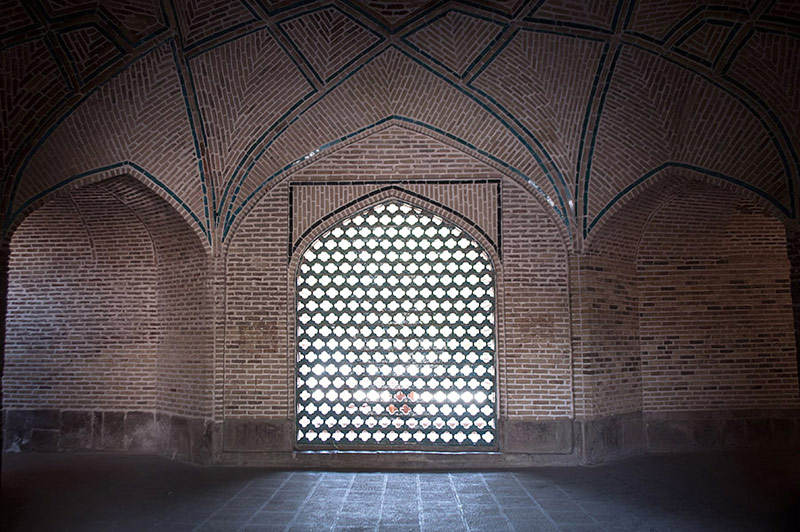 مسجد جامع قزوین,مسجد عتیق قزوین,معماری مسجد جامع قزوین