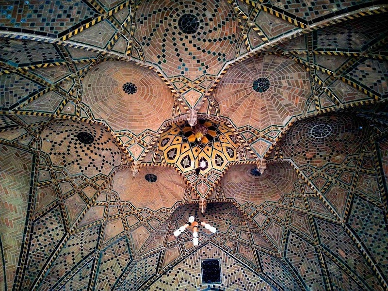 تاریخچه مسجد جامع کبیر قزوین,عکس مسجد جامع قزوین,عکس های مسجد جامع قزوین