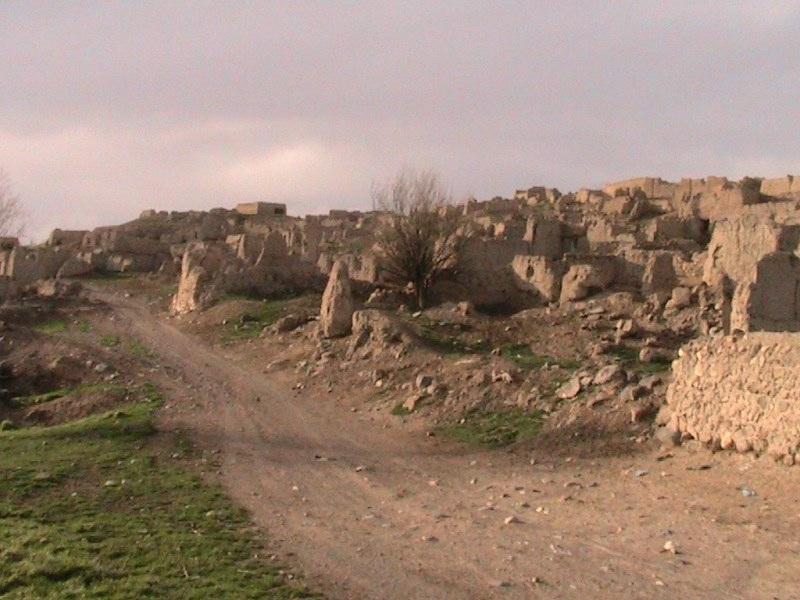 روستای تاریخی گنزق,روستای کنزق سرعین,روستای گنزق