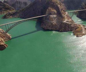 پل دریاچه سد کارون 3,جاذبه های گردشگری خوزستان,دریاچه سد کارون 3
