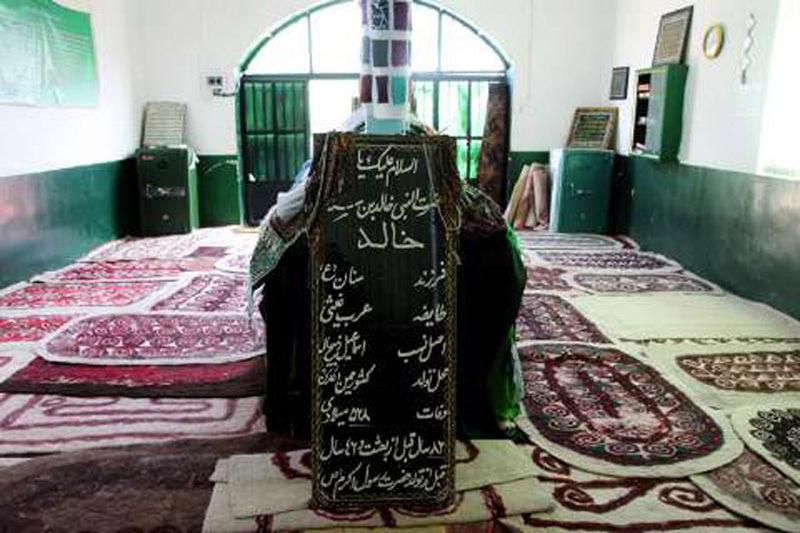 آرامگاه خالد نبی,امامزاده خالد نبی,خالد نبی گرگان