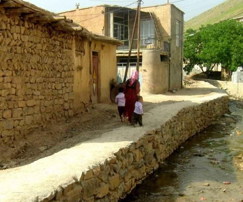 جاذبه های گردشگری کردستان,روستا کیلانه,روستای کیلانه