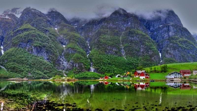 مناطق گردشگری نروژ