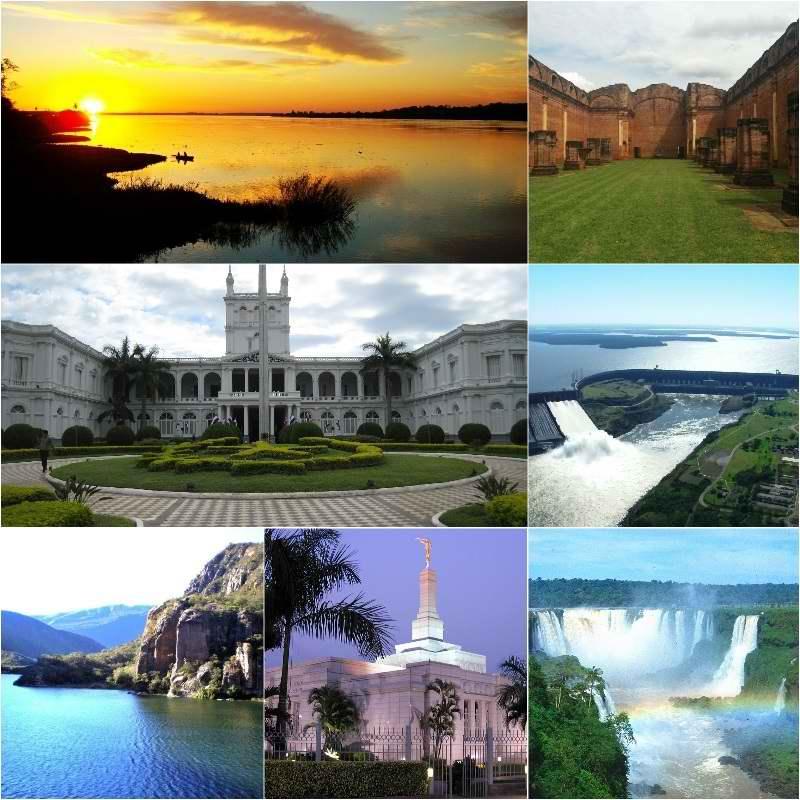 جاذبه های گردشگری,جاذبه های گردشگری پاراگوئه,رودخانه پارانا