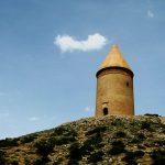 از جاذبه های گردشگری استان گلستان,برج رادکان در کردکوی,برج رادکان در گلستان