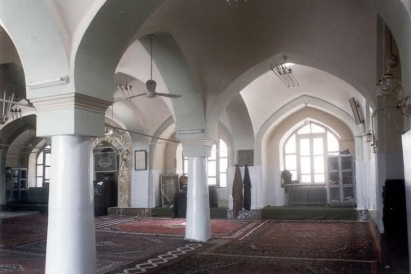 مسجد شورین در استان همدان,مسجد شورین در همدان,مسجد قلعه روستای شورین