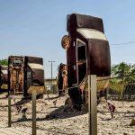 جاذبه های گردشگری استان خوزستان,ساختمان موزه جنگ خرمشهر,عکس های موزه جنگ خرمشهر