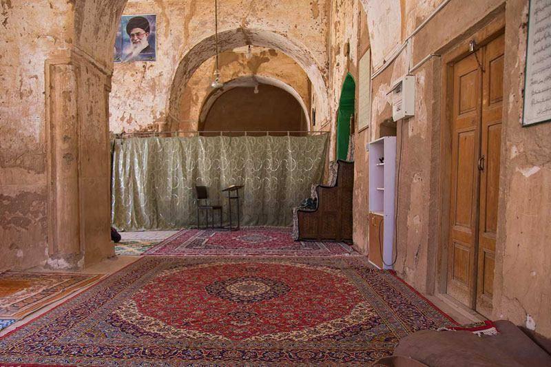 پلان مسجد جامع فهرج یزد,تصاویر مسجد جامع فهرج یزد,جاذبه های گردشگری یزد