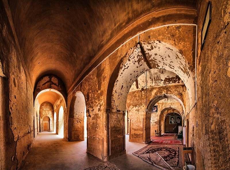 مسجد جامع فهرج در یزد,معماری مسجد جامع فهرج