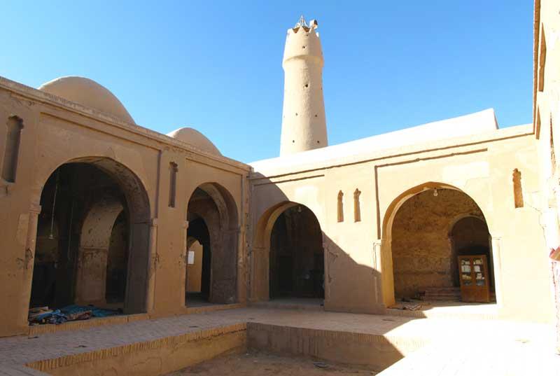 عکس های مسجد جامع فهرج یزد,فهرست جاذبه های گردشگری استان یزد,مسجد جامع فهرج