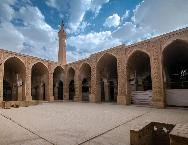 جاذبه های گردشگری یزد,محراب مسجد جامع نایین,مسجد جامع نایین