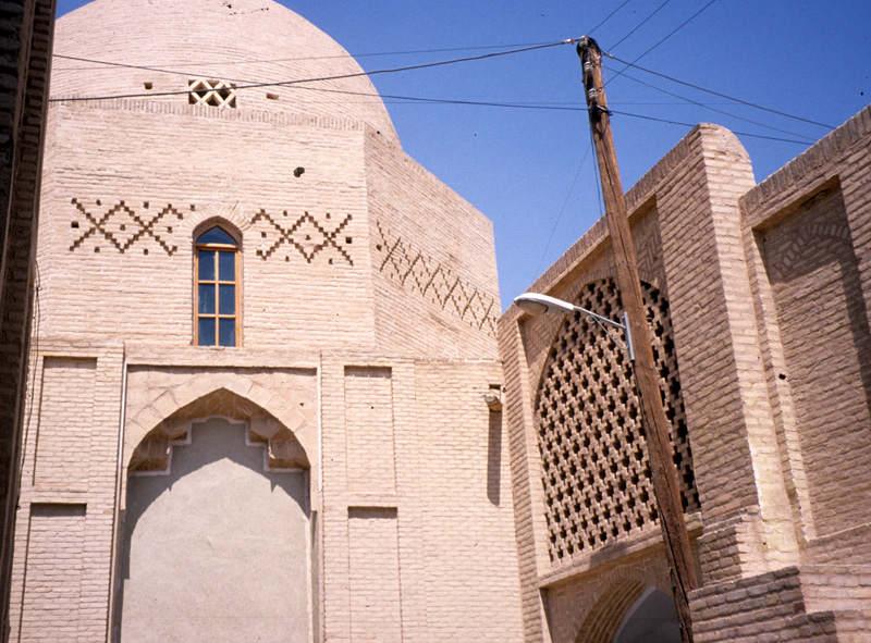 مسجد نایین,مسجد نایین یزد,معماری مسجد جامع نایین