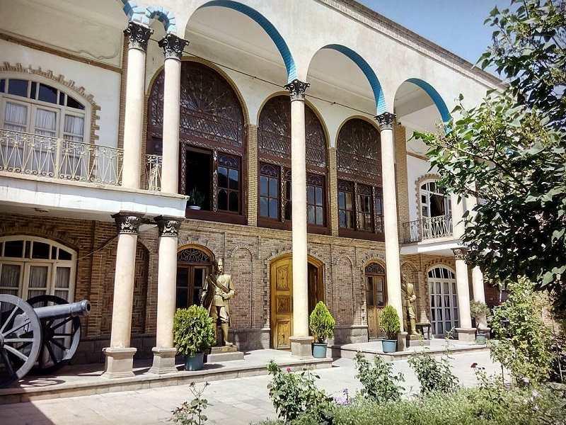 پلان خانه مشروطه تبریز,جاذبه های تاریخی تبریز,خانه مشروطيت تبريز