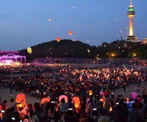 جاذبه های گردشگری کره جنوبی,جشنواره دانگسئونگنو,جشنواره رژه رنگ های دائگو