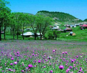 جاذبه های گردشگری گلستان,روستاي جهان نماي گرگان,روستای جهان نما