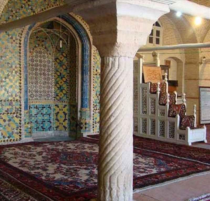 مسجد خانم زنجان آدرس,معماری مسجد خانم زنجان