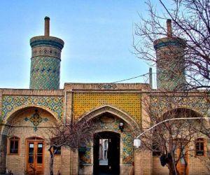 پلان مسجد خانم زنجان,تاریخچه مسجد خانم زنجان,جاذبه های گردشگری و تاریخی زنجان