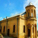 کلیسای آنجلی همدان مربوط به دوره قاجار می باشد,کلیسای انجیلی در همدان درون بیمارستان واقع شده است,کلیسای کاتولیک حضرت رفائیل دارای پلانی مستطیل شکل می باشد