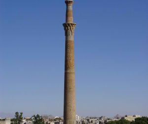 آدرس منار ساربان اصفهان,ارتفاع منار ساربان,پلان منار ساربان