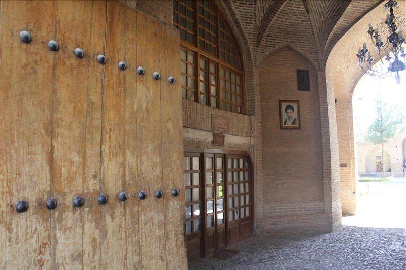 کاروانسرای شاه عباسی نیشابور,معماری کاروانسرای شاه عباسی در نیشابور