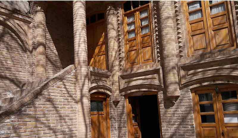 جاذبه های تاریخی مشهد,خانه تاریخی توکلی مشهد,خانه توکلی در مشهد