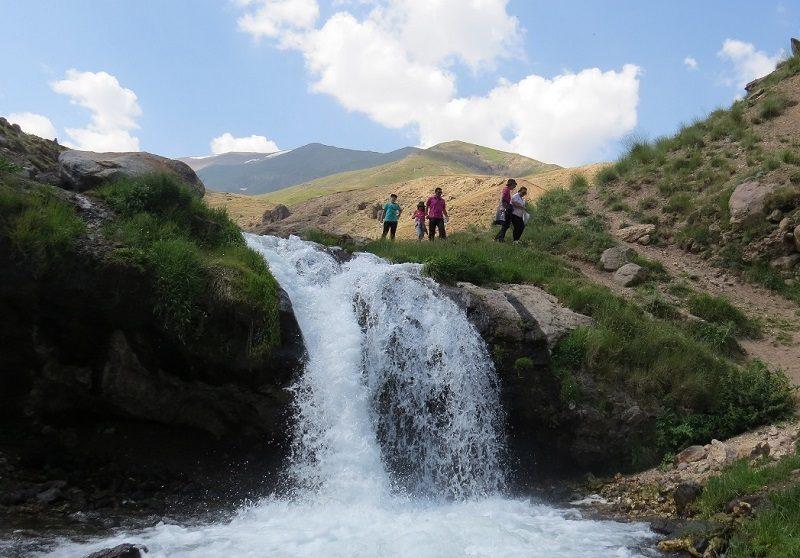 آبشار گورگور آلوارس مشگین شهر,جاذبه های طبیعی اردبیل,جاذبه های گردشگری استان اردبیل