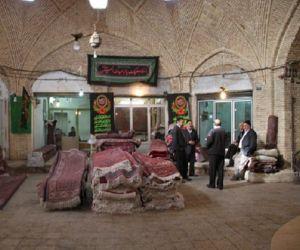 بازار تاریخی زنجان,بازار قدیمی زنجان,سرای مشهد علی