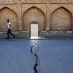 جاذبه های تاریخی اصفهان,سی و سه پل اصفهان نشست کرد,سی و سه پل در زمین فرو می رود