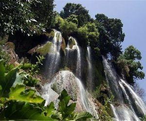 آبشار بیار بجنورد,آبشار بیار در بجنورد,روستای بیار