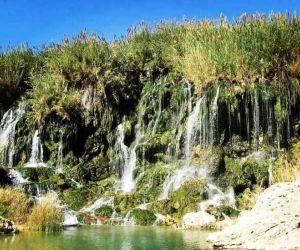 آبشار فدامی داراب,آبشار فدامی شهرستان داراب,آبشارهای شور و شیرین فدامی